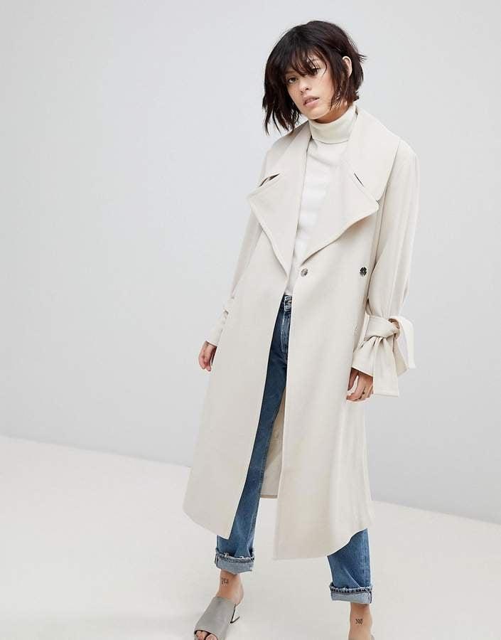 ASOS Belted Coat