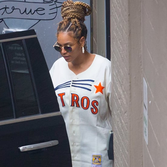 Beyonce Having Lunch With JAY-Z and Solange in New Orleans
