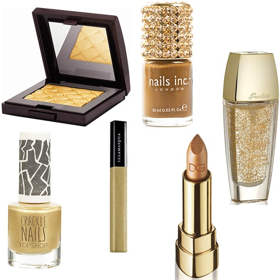 Gold New Years Eve Beauty