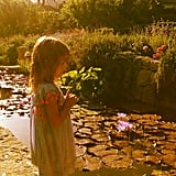 Alessandra Ambrosio caught a sweet snap of Anja by a Montecito, CA, pond in June. Source: Instagram user alessandraambrosio