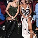 Taylor Swift and Halsey at the 2019 American Music Awards