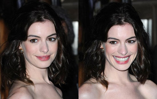 Anne Hathaway Makeup at The 2008 London Film Festival
