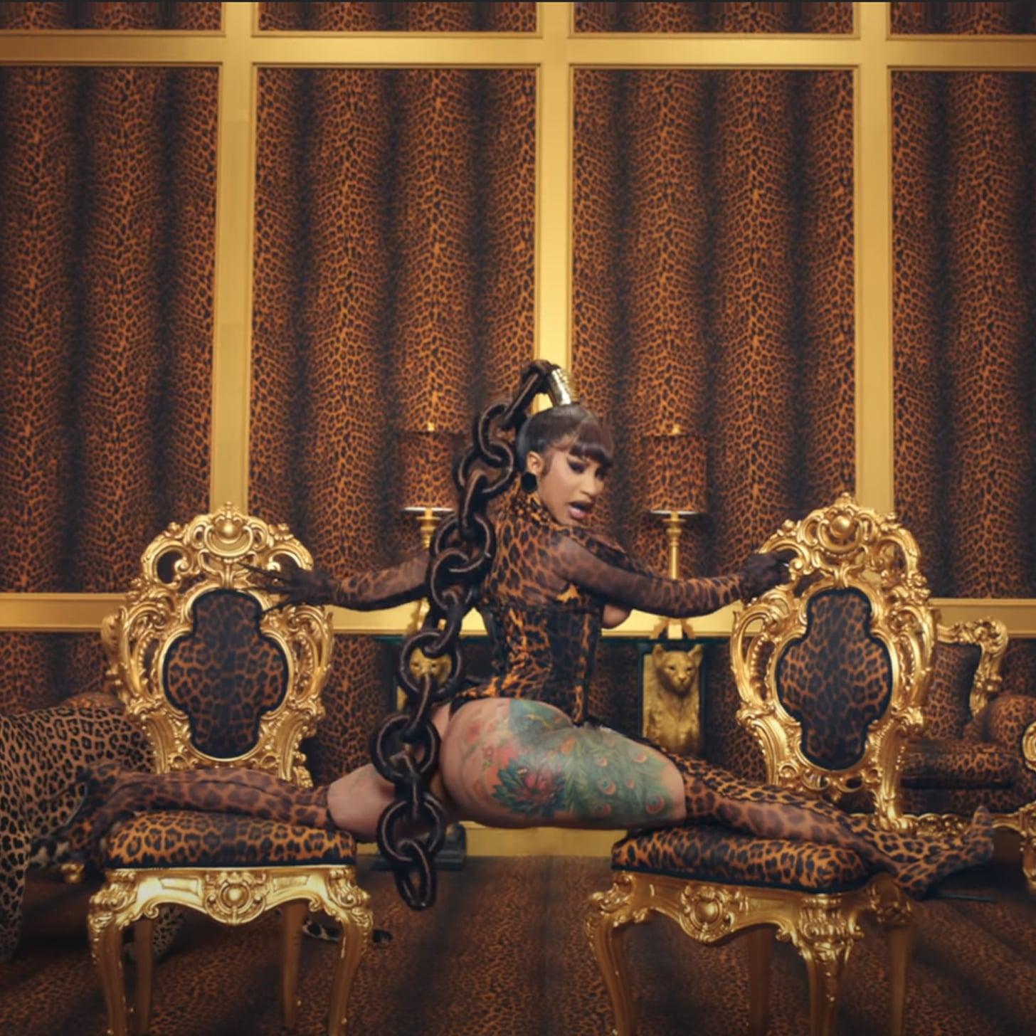 Cardi B And Megan Thee Stallion Wap Music Video Beauty Looks