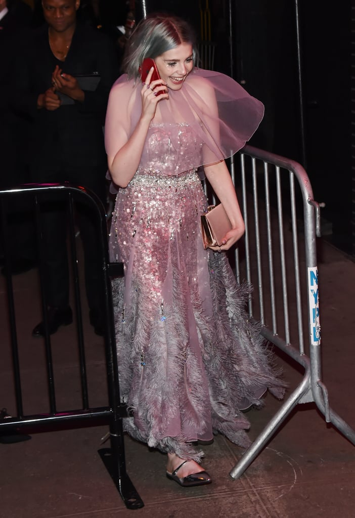 Lucy Boynton at the Met Gala Afterparty