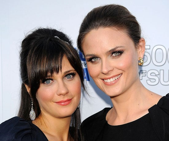 Emily and Zooey Deschanel