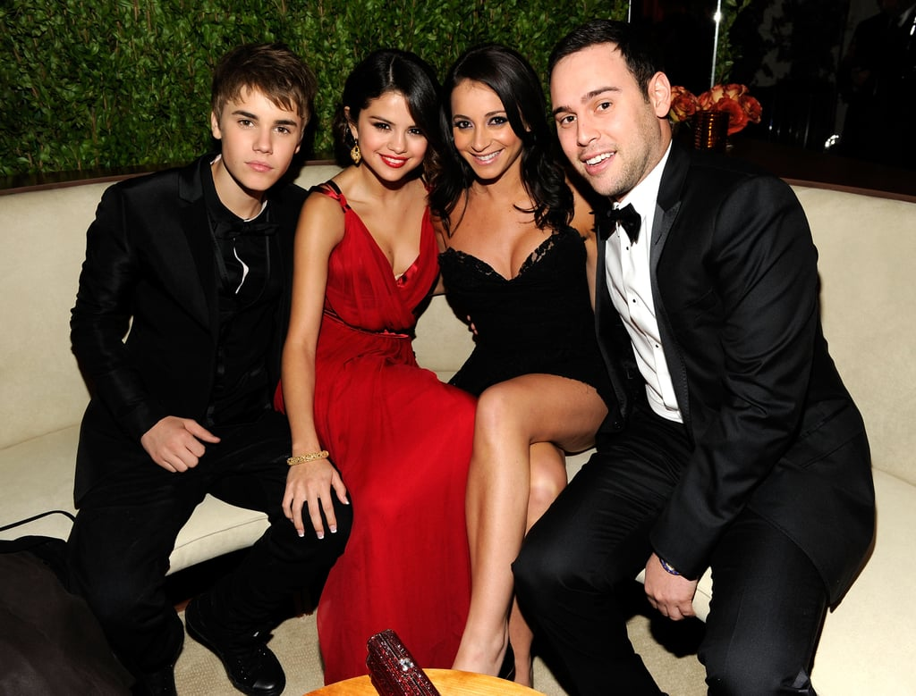 Pics: Justin Bieber And Selena Gomez Snuggle, Hold Hands At Vanity Fair  Oscars Party