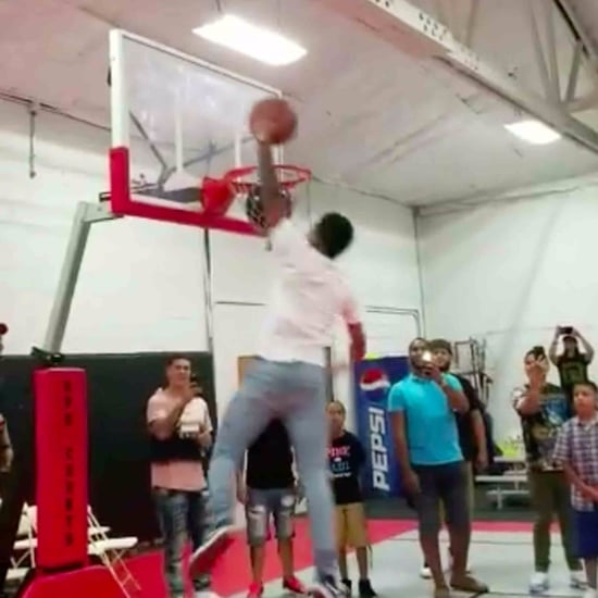 Basketball Slam Dunk Gender Reveal