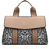 Shein Snakeskin Print Flap Grab Bag