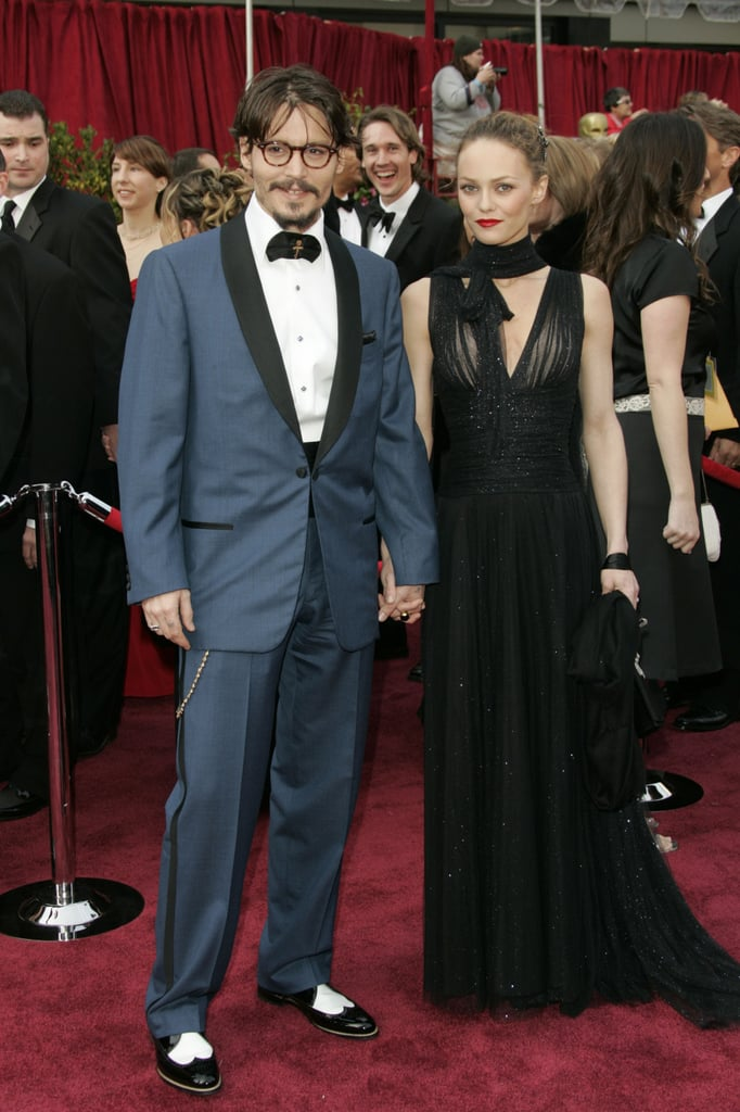 Johnny and Vanessa dressed up for the 2005 Oscars.