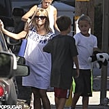 Reese Witherspoon and her son, Deacon, met up with a friend in LA.