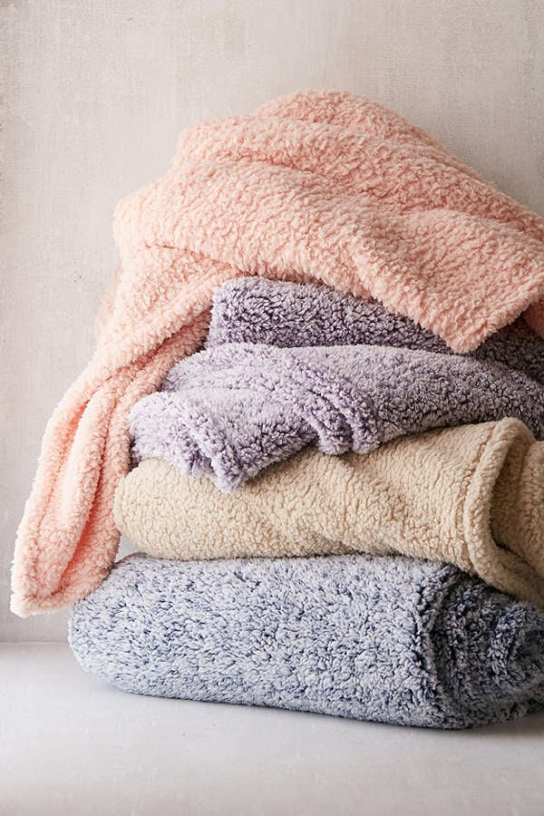 Fleece Throw Blanket We Found The Coolest Christmas Gifts This Year And Added All To Cart Popsugar Smart Living Photo 17