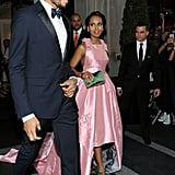 Kerry Washington and Nnamdi Asomugha at the 2015 Met Gala