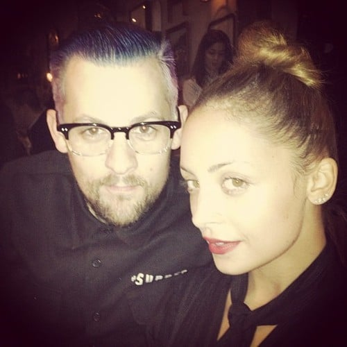 Joel Madden and Nicole Richie had a date night. Source: Twitter user JoelMadden