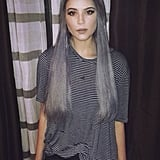 Gray Hair Makes Her Look Rad, Not Old