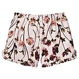 Toddler Girls' Blush Floral Ruffle Trim Tank Top and Short Set ($20)