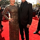Pink and Carey Hart walked the red carpet.