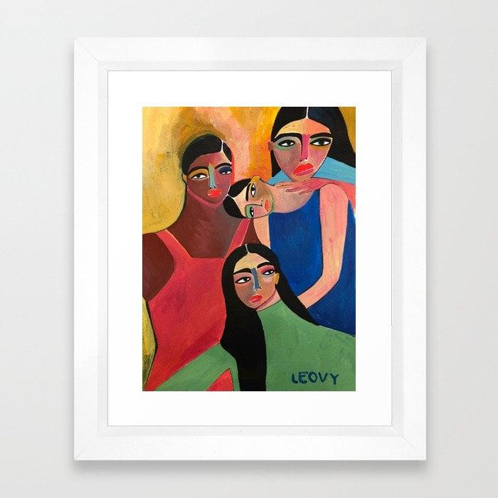Support System Framed Art Print by Analeovy