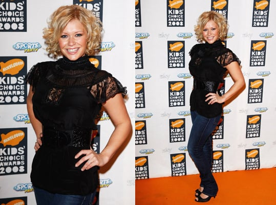 2008 Nickelodeon UK Kids' Choice Awards: Suzanne Shaw