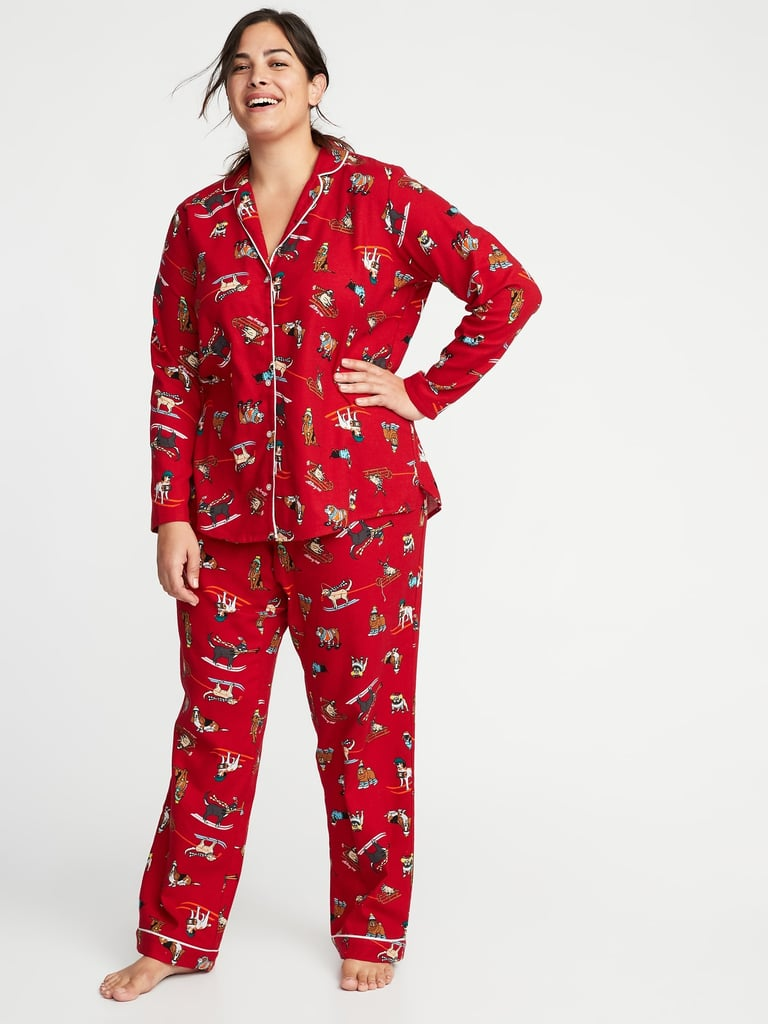 Old Navy's Holiday Pajamas Have Arrived, and There's Something For Every Family Member!