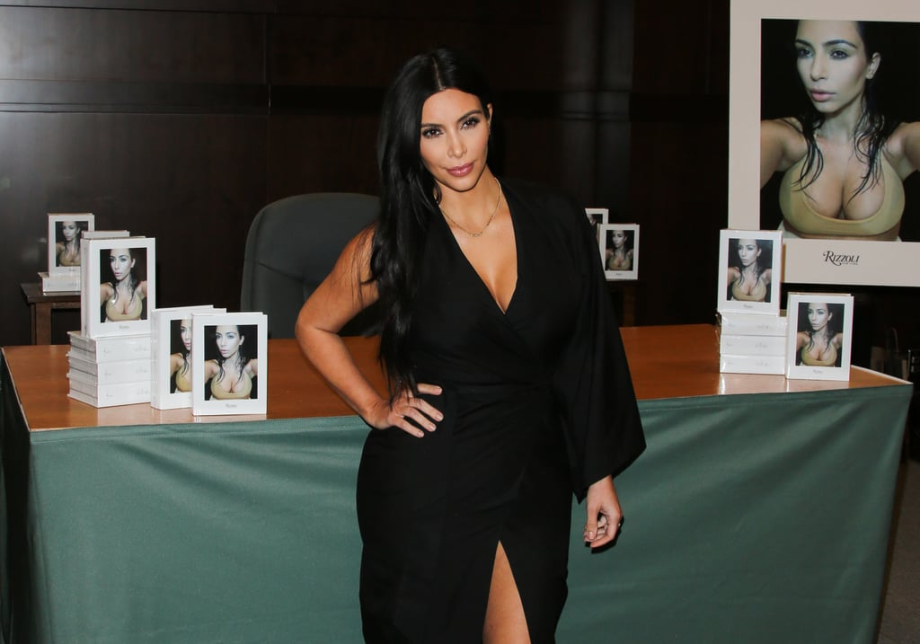 Kim Kardashian Just Wore a Sexy Robe to Her Book Signing — Was It the Right Move?