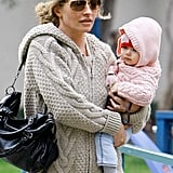 Rebecca Gayheart and Baby Billie Get Into the Swing of Things