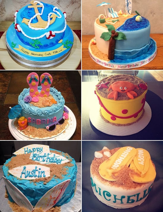 Summer Birthday Cakes Popsugar Family