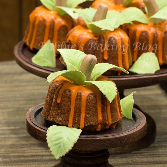 bunt cake pumpkin