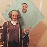 Benjamin Franklin and His Kite