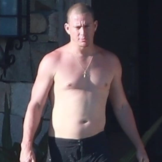 Channing Tatum Shirtless in Mexico Pictures March 2019