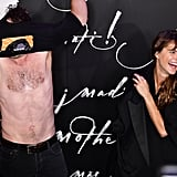 Matthew Rhys Took Off His Shirt on the Red Carpet, Much to the Delight of Keri Russell