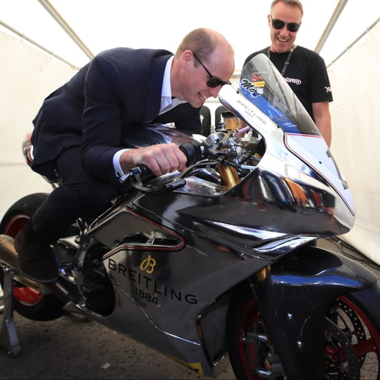 Prince William at the Isle of Man TT June 2018 Pictures