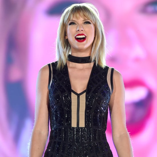 Taylor Swift at Formula 1 United States Grand Prix 2016
