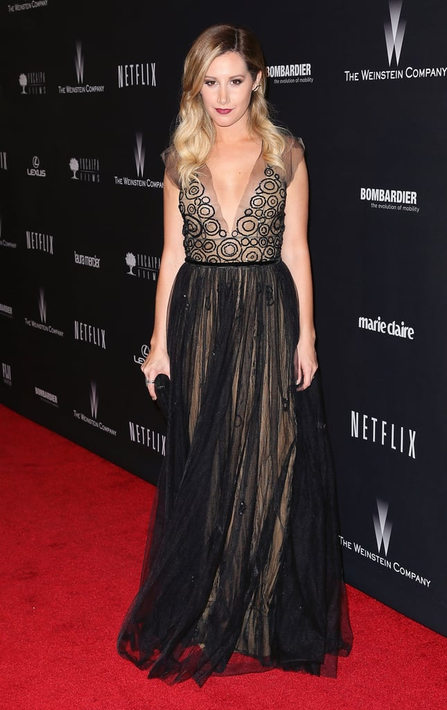 Ashley Tisdale at the Netflix Golden Globes Afterparty