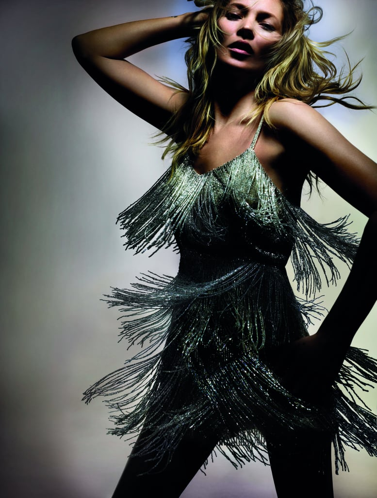 April 2014: Kate Moss For Topshop Campaign