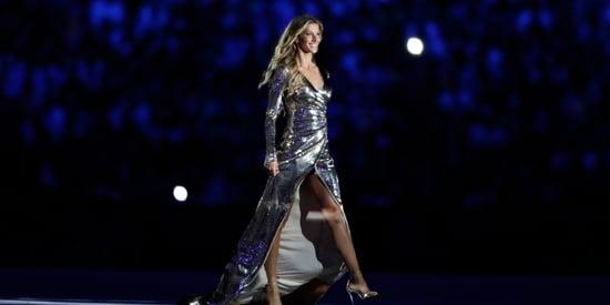 Gisele Bundchen Wins Gold Medal In Walking In A Straight Line