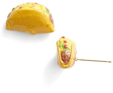 Venessa Arizaga Taco Night Stud Earrings ($50)