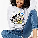 Forever 21 Disney Characters Graphic Sweatshirt