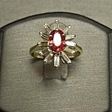 Vintage Estate Padparadscha Sapphire Ring