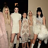 Khloé, Kourtney, and Kim Kardashian and Kendall and Kylie Jenner