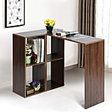 Aingoo Vintage Student Writing Desk with Bookshelf