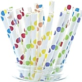 Circus Party Straws, Carnival Theme