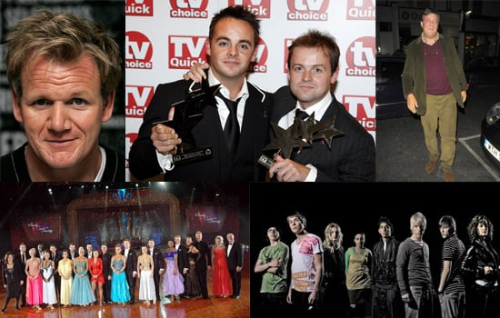 Nominees for the Royal Television Society Programme Awards