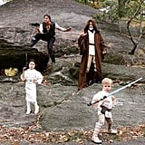 Neil Patrick Harris and His Family as Star Wars Characters