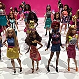 The new Barbie Fashionistas Line features Barbies with different skin tones, body types, eye colors, and hair styles to give your kiddo infinite ways to play with a Barbie that looks a bit more like herself and the girls and women in her own life.