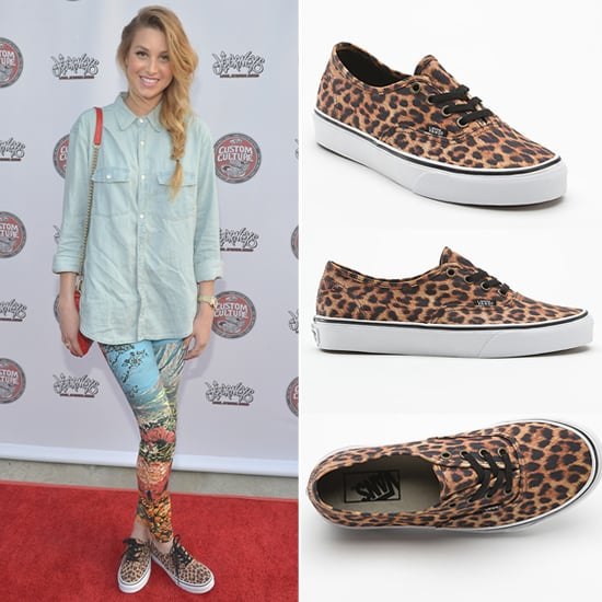 Whitney Port Leopard Vans Sneakers