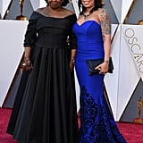 Whoopi Goldberg and her daughter, Alex Martin, got all glammed up for the Oscars.