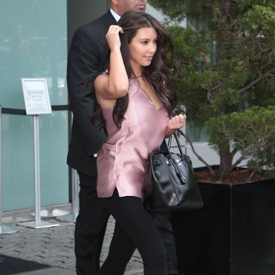 Kim Kardashian Light Pink Top