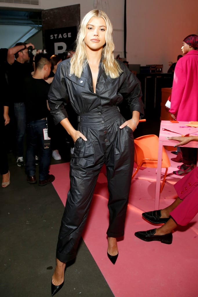 Sofia Richie at the Rebecca Minkoff New York Fashion Week Show