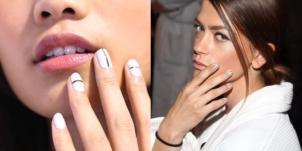 The NYFW Nail Trend You Can't Mess Up