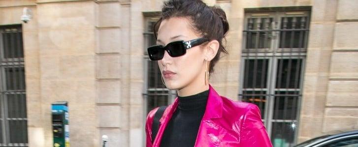Bella Hadid Brings '80s Glam to Paris Fashion Week